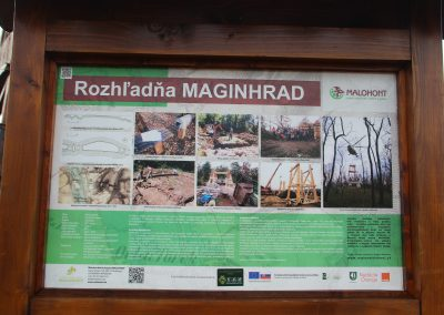 S mapou na túre: Zaniknutý hrad Maginhrad