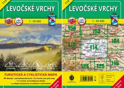 Vynovená turistická mapa VKÚ TM 114 – Levočské vrchy je tu!