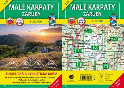 TM 128 – Malé Karpaty – Záruby, čerstvo vytlačená.