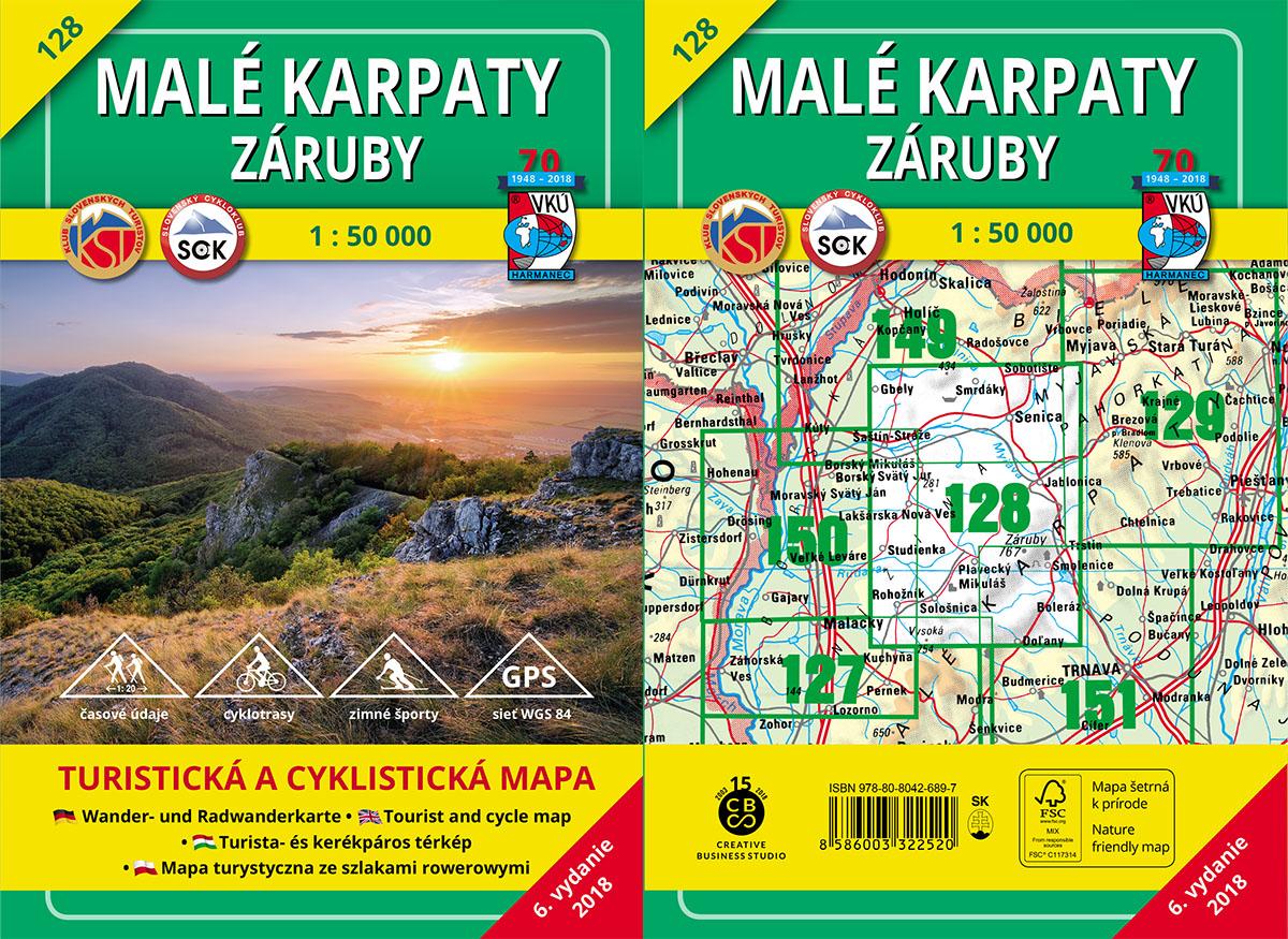 TM 128 - Malé Karpaty - Záruby