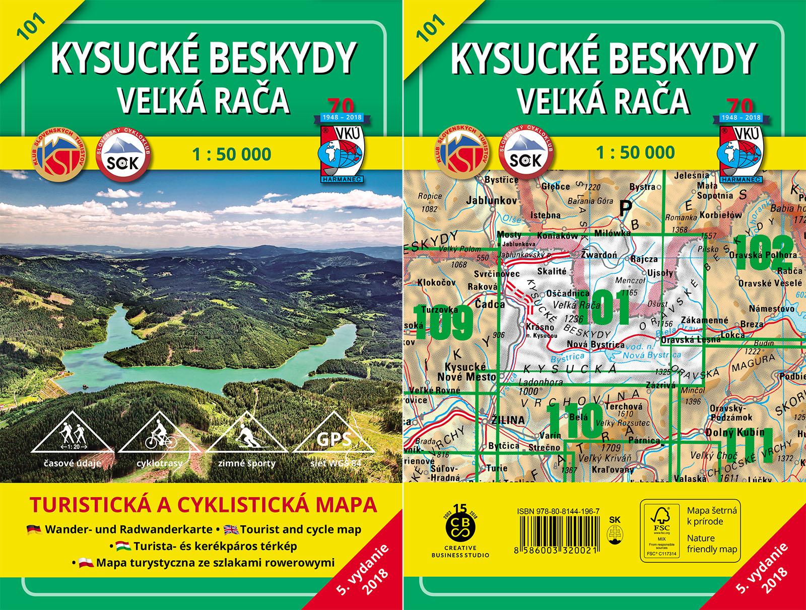 TM 101 - Kysucké Beskydy - Veľká Rača