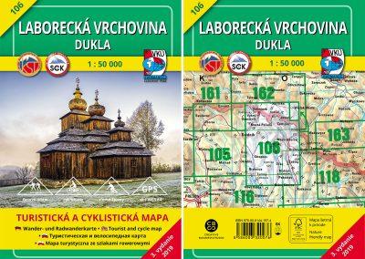 Turistická mapa TM 106 – Laborecká vrchovina – Dukla prichádza!