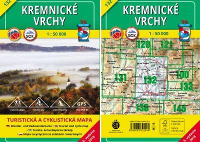 Turistická mapa VKÚ TM 132 – Kremnické vrchy, práve prichádza!
