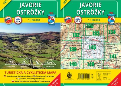 Turistická mapa VKÚ TM 145 – Javorie – Ostrôžky, je tu!