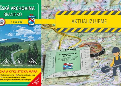 Ďalšia turistická mapa sa dočká svojej aktualizácie, TM 115 Šarišská vrchovina – Branisko