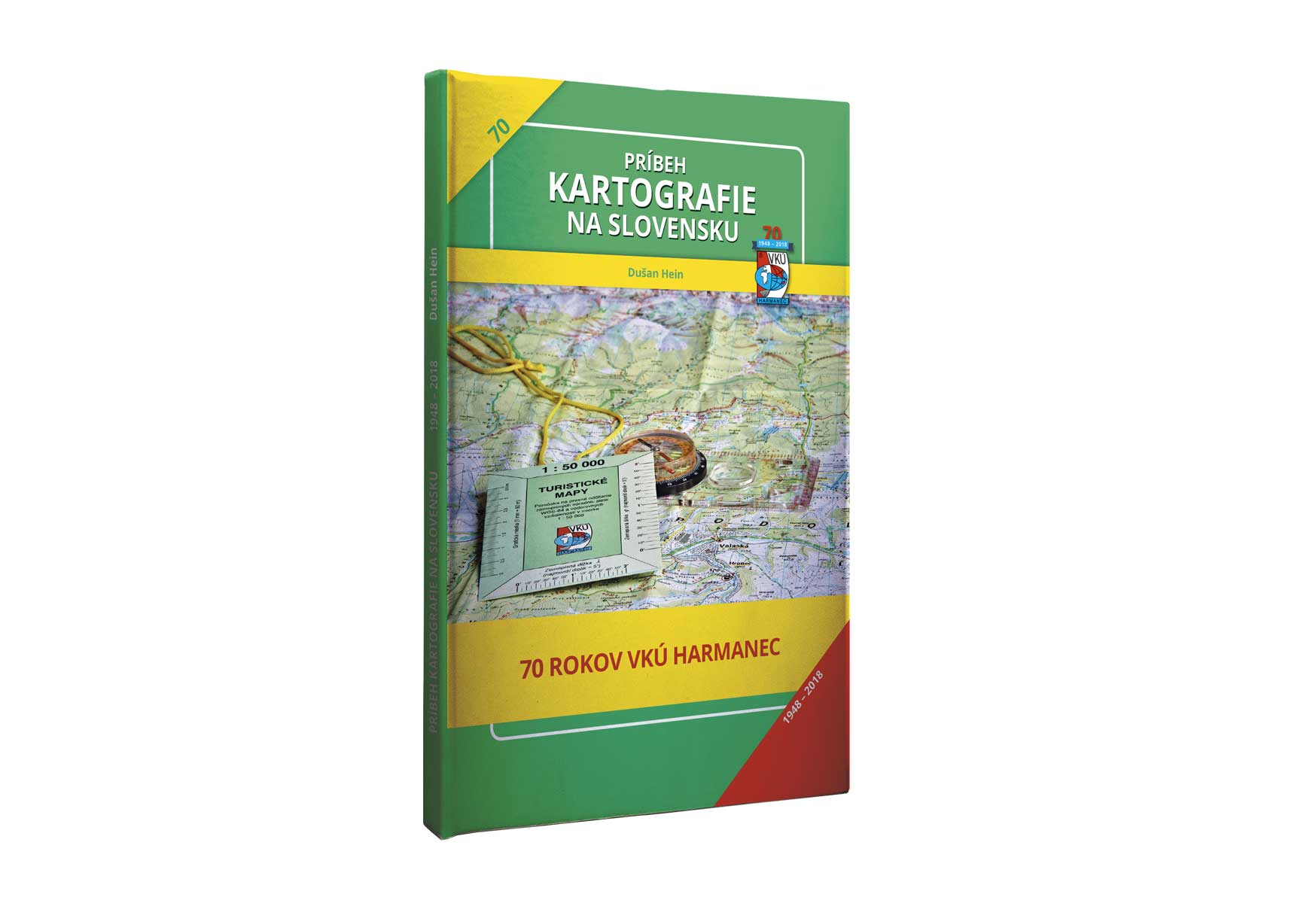 Kniha Príbeh kartografie na SLovensku