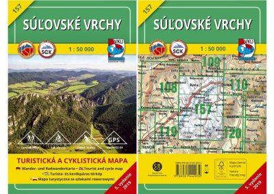 Novinka – TM 157 Súľovské vrchy