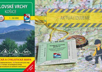 Aktualizácia mapy TM 136 – Volovské vrchy práve odštartovala
