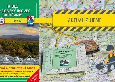 Aktualizácia TM 137 – Tribeč- Pohronský Inovec – Topoľčianky