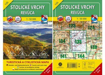 Turistická mapa TM 135 – Stolické vrchy – Revúca je na svete!