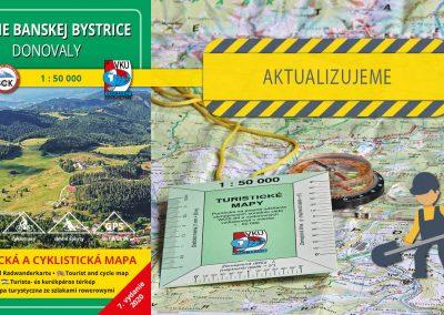 Ďalšia turistická mapa sa dočká svojej aktualizácie, TM 100 Okolie Banskej Bystrice – Donovaly