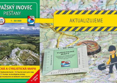 Aktualizácia TM 130 – Považský Inovec – Piešťany