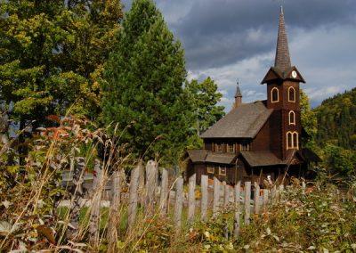 Kostolík v Javorine