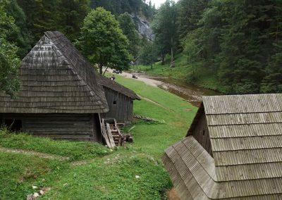 Za mlynmi v Kvačianskej doline