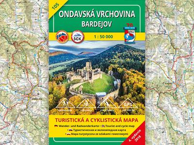 TM 105 – Ondavská vrchovina