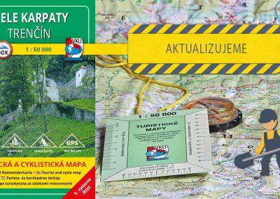 Ďalšia turistická mapa sa dočká svojej aktualizácie, TM 107 Biele Karpaty – Trenčín