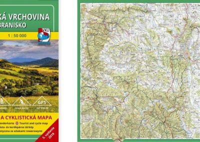 Novinka! TM 115 – Šarišská vrchovina – Branisko
