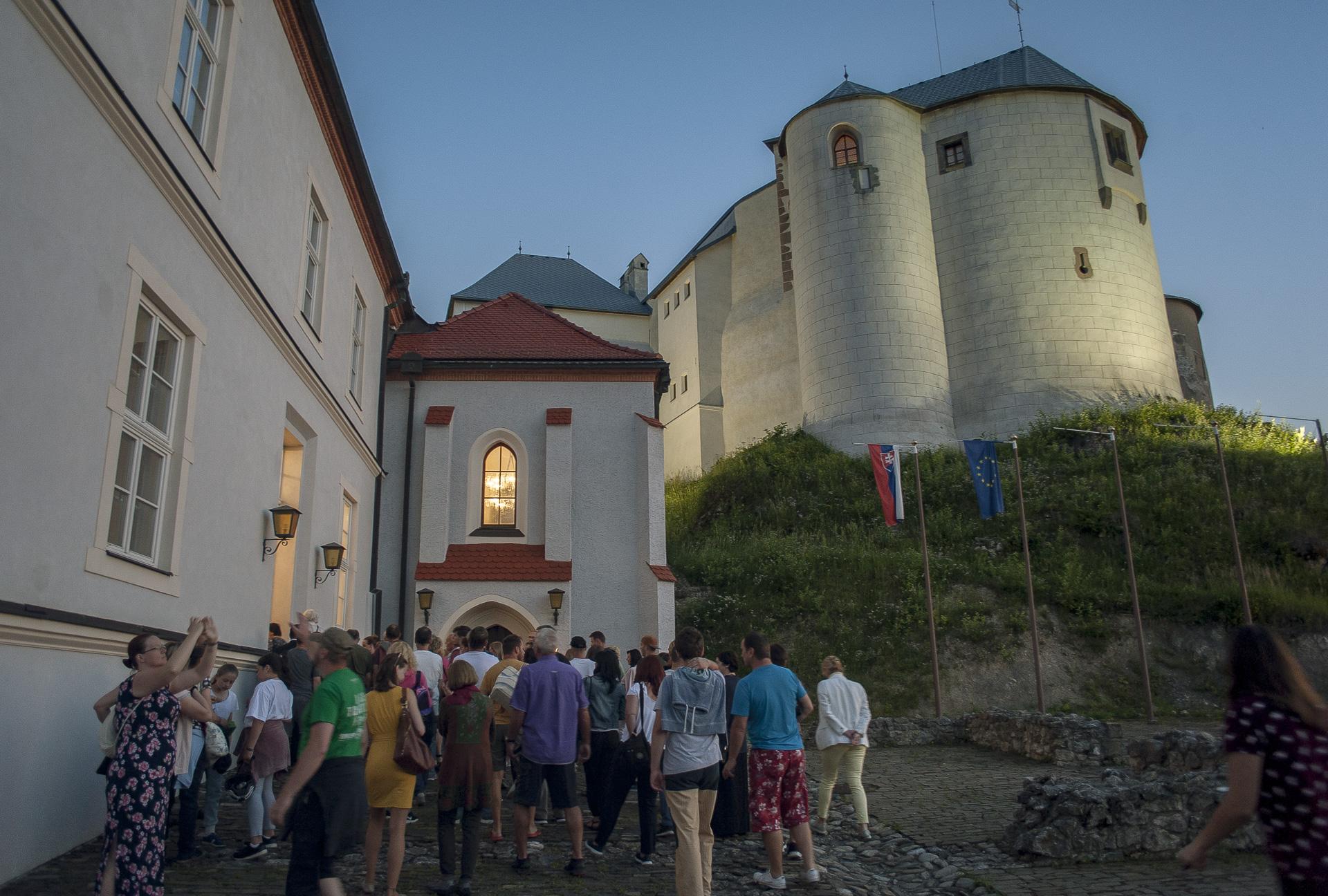 Malé letné objavovanie – Nočný hrad Ľupča
