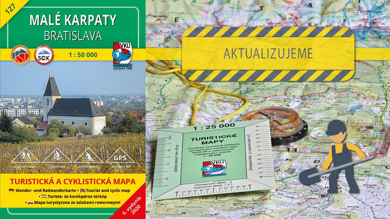 Aktualizácia TM 127 Malé Karpaty Bratislava práve odštartovala