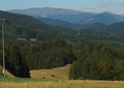 Z Králik okolím Skalky v Kremnických vrchoch