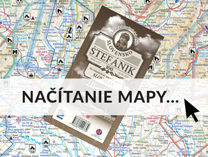 Letecká turistická mapa M. R. Štefánika