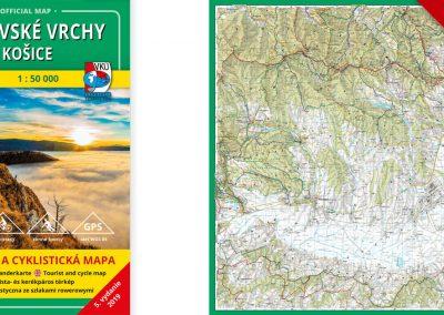 Novinka! TM 136 – Volovské vrchy – Košice