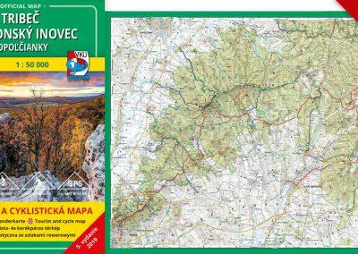 Ďalšia VKÚ mapa je aktualizovaná! TM 137 Tribeč – Pohronský Inovec – Topoľčianky