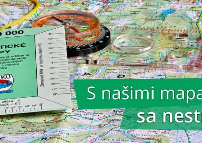 Cykloturistické trasy v legendárnych VKÚ turistických mapách