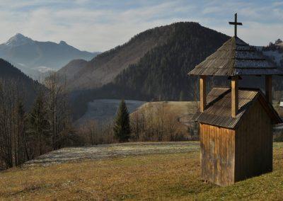 Ku zázrivskej zvoničke nad dolinou Havrania