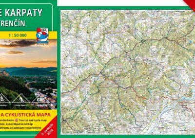 Ďalšia VKÚ mapa je aktualizovaná! TM Biele Karpaty – Trenčín