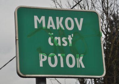Okolím Makova