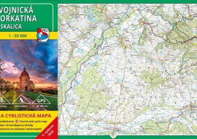 Ďalšia VKÚ mapa je aktualizovaná! TM 149 Chvojnícka pahorkatina – Skalica