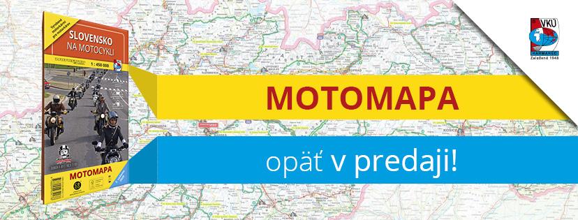 Aktualizovaná mapa Slovensko na motocykli je späť!!