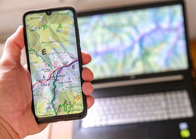 Mapy VKÚ Harmanec sú bezplatne na internete