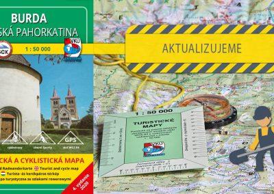 Aktualizácia mapy TM 142 Burda – Ipeľská pahorkatina práve odštartovala