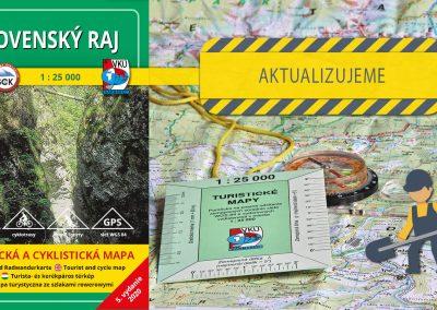 Aktualizujeme TM 4 Slovenský raj v mierke 1: 25000!