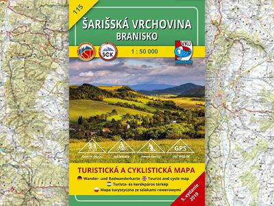 TM 115 Šarišská vrchovina – Branisko