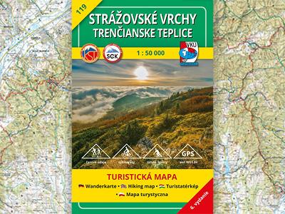 TM 119 Strážovské vrchy – Trenčianske Teplice