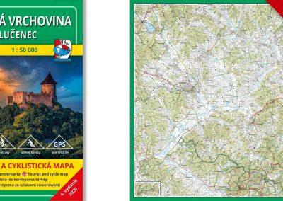 Novinka! TM 141 Cerová vrchovina – Lučenec