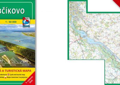 Ďalšia VKÚ mapa je aktualizovaná! TM 143 Gabčíkovo