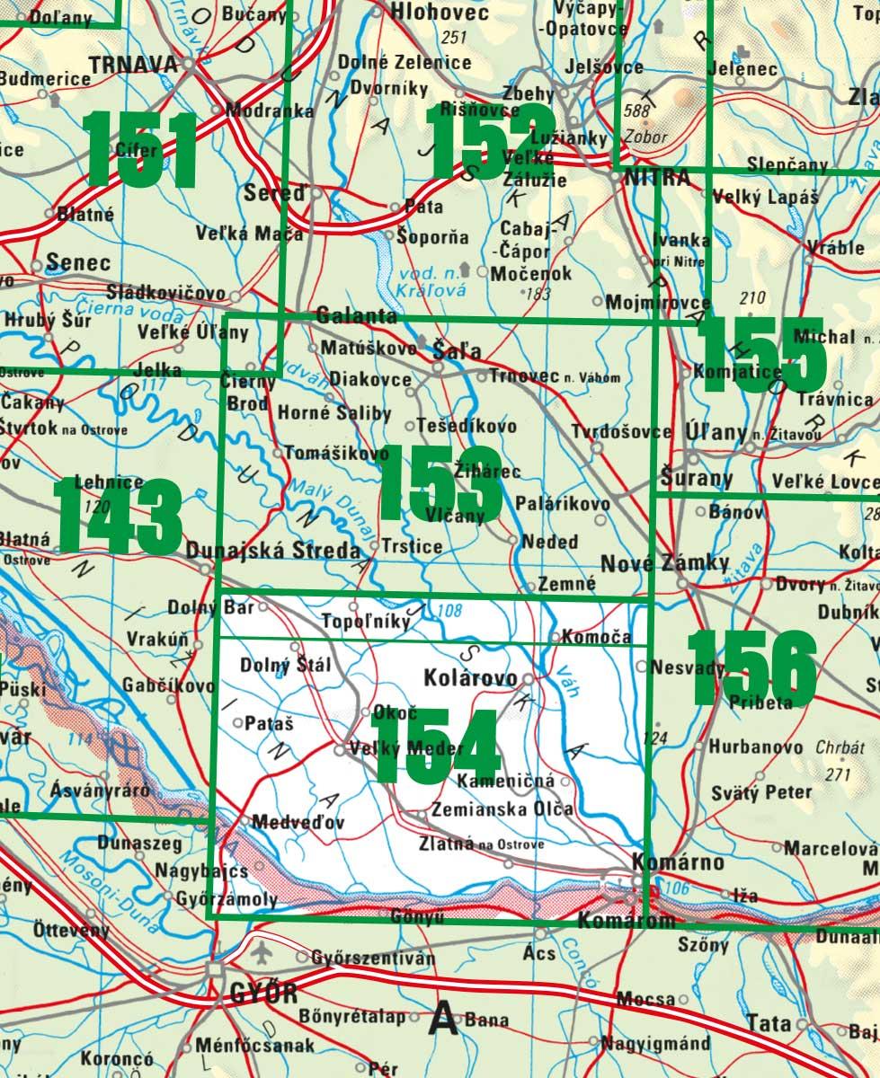 TM 154 Podunajská rovina - Veľký Meder