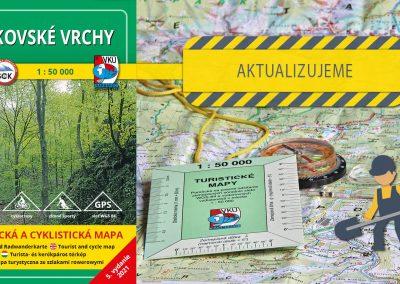 Aktualizácia mapy TM 118 – Bukovské vrchy práve odštartovala