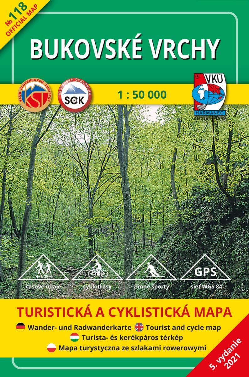 TM 118 Bukovské vrchy