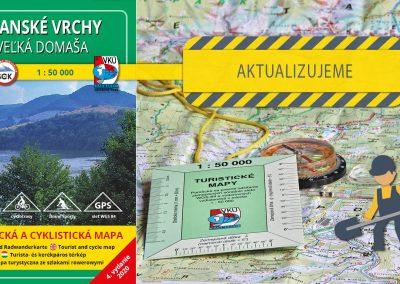 Aktualizujeme TM 116 Slanské vrchy – Veľká Domaša