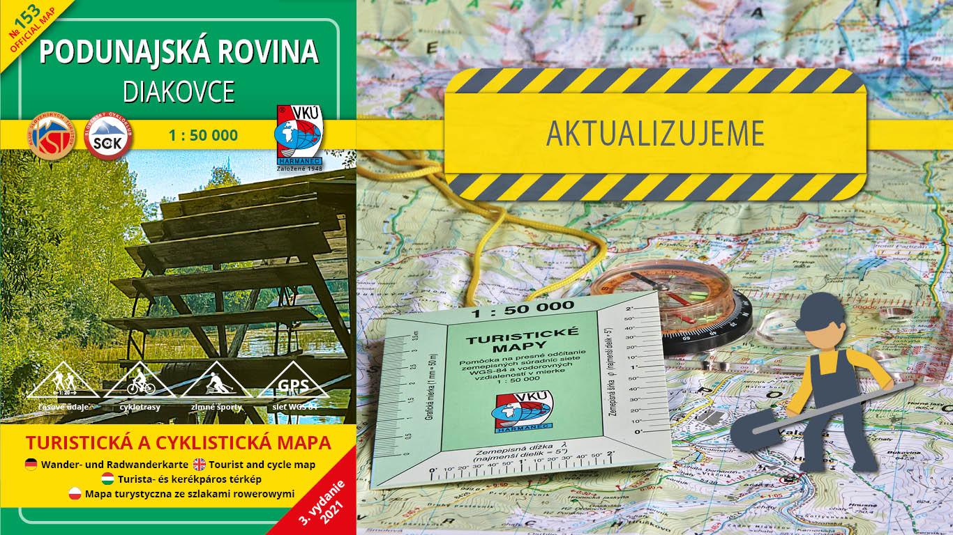 Aktualizujeme TM 153 – Podunajská rovina – Diakovce