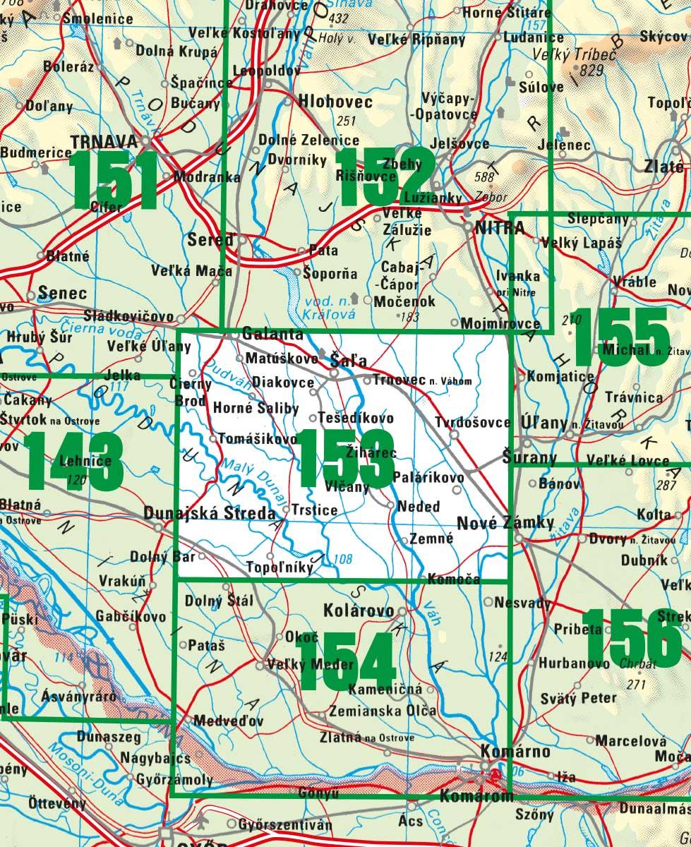 tm153 - Podunajská rovina - Diakovce