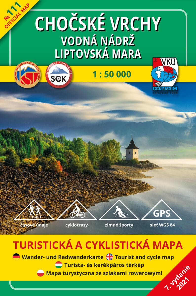 TM 111-Chočské Vrchy - Vodná nádrž Liptovská Mara