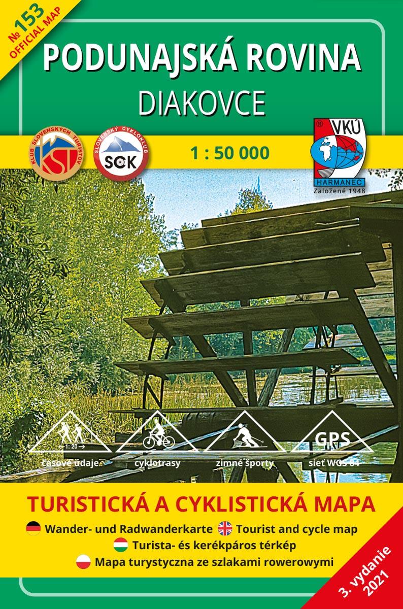 tm153 Podunajská rovina - Diakovce