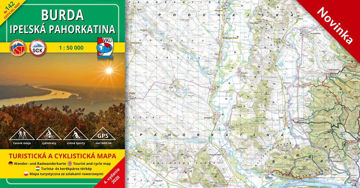 NOVINKA! TM 142 Burda – Ipeľská pahorkatina