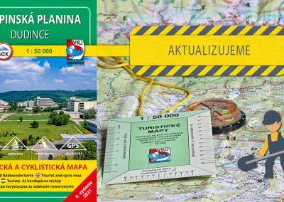 Aktualizácia mapy TM 140 – Krupinská planina – Dudince práve odštartovala